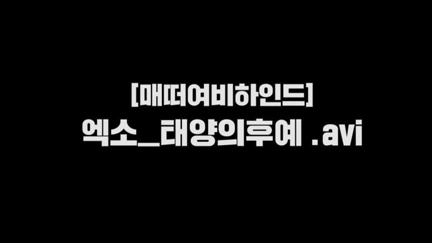 [매떠여 EXO] Chen singing Everytime Descendants of the Sun
