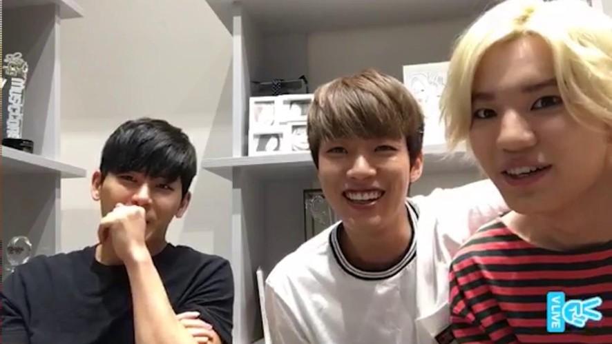 [INFINITE] 이씨형제들의 깜짝 브이앱 (INFINITE Surprise Live)