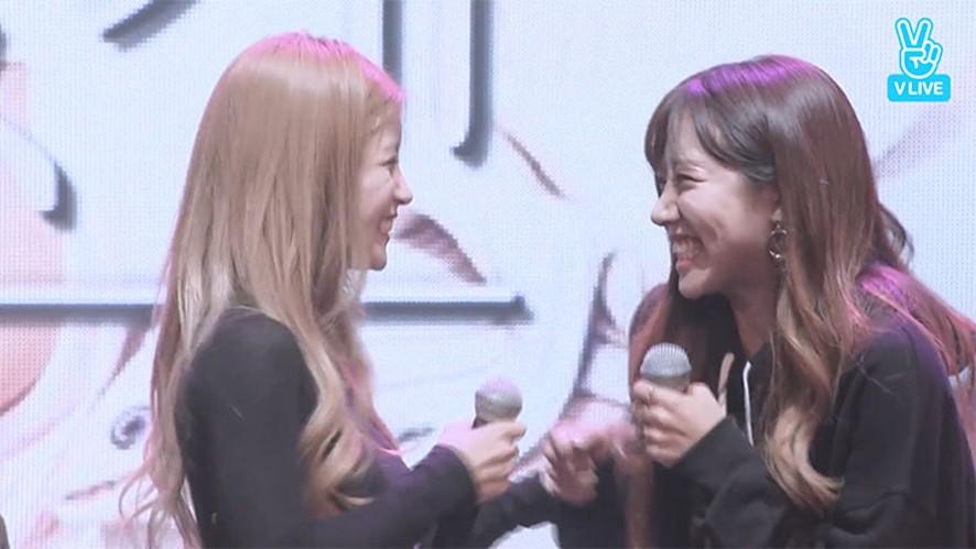 [Apink] 롱스나이퍼와 MC죠스의 랩😎(Chorong&Namju's rap)