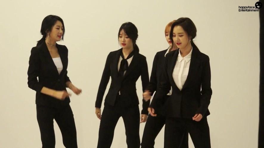 [Making] 달샤벳 [FRI. SAT. SUN]금토일 자켓 촬영 비하인드
