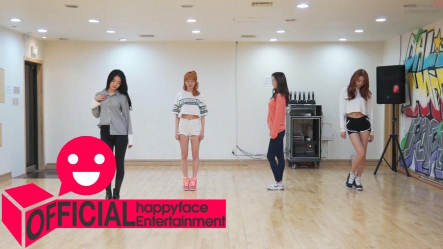 Dalshabet(달샤벳) '금토일(FRI. SAT. SUN)' Dance Practice