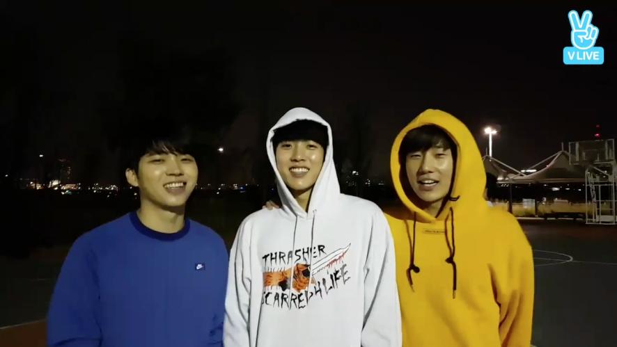 [INFINITE] 울림농구부 그친구들의 하루 (INFINITE playing basketball)
