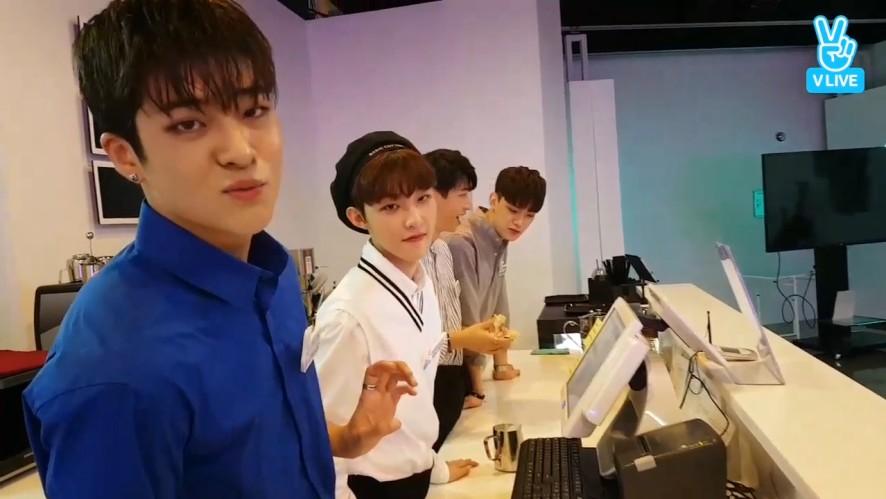 [BOYS24] 진섭이가 만든 하트 라떼 나에게도 주었으면☕(Barista Jinseob's latte art)