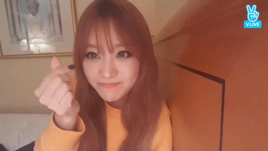 [SONG JI EUN] 필터가 쏭지빨 받네ㅠㅠ(Ji Eun testing camera filters)