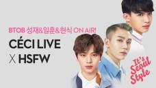 비투비 성재&일훈&현식의 쎄씨라이브 BTOB CeCi LIVE