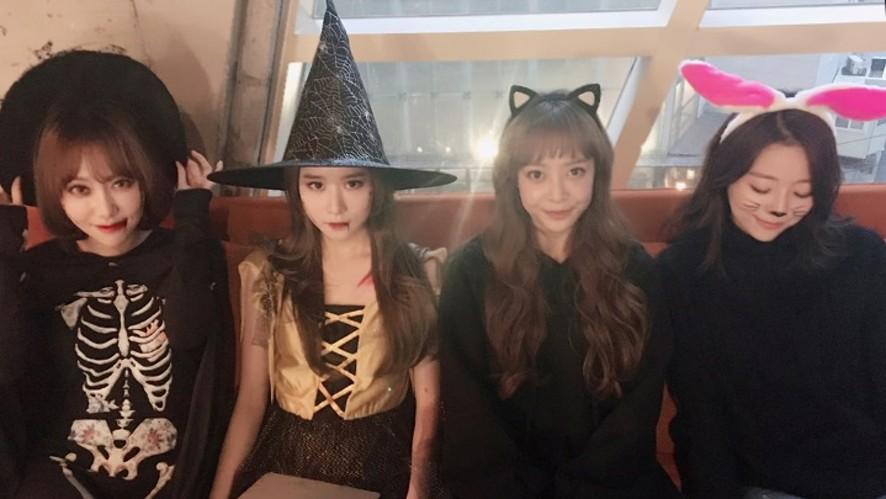 MelodyDay '유민의 할로윈 메이크업 (Halloween Make up)'