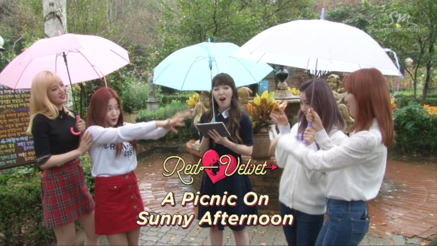 Red Velvet's A Picnic On A Sunny Afternoon Teaser