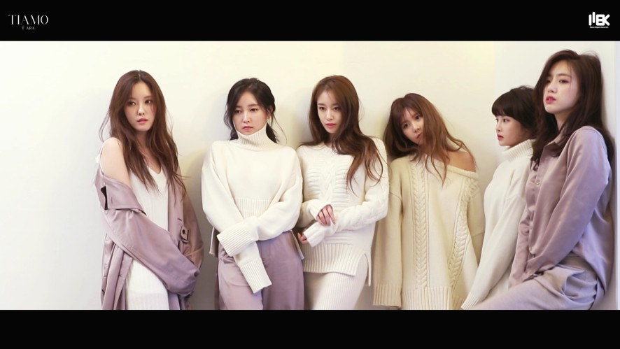 "[T-ARA] ""TIAMO"" JACKET MAKING FILM"