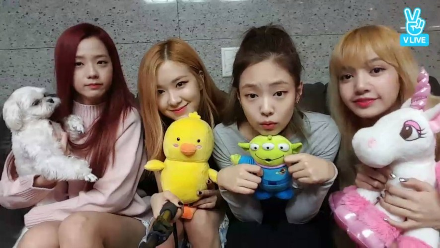 BLACKPINK at 숙소