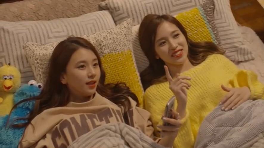 [TWICE] 피곤한 하루가 히링되는 꿀잼눕방🍯(Mina&Chaeyoung's healing LieV)