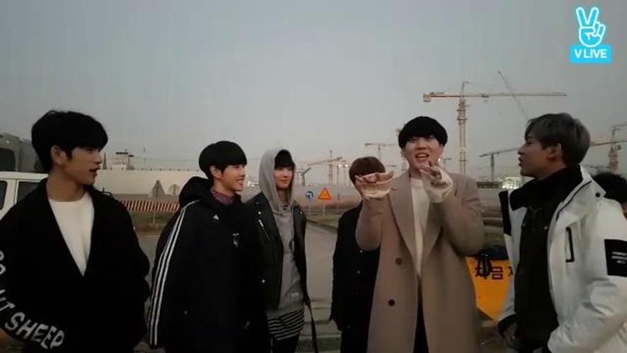 GOT7은 리얼리티 촬영중! ❤️
