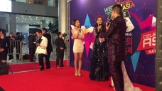 Chi Pu in Red Carpet - WebTV Asia Awards 2016