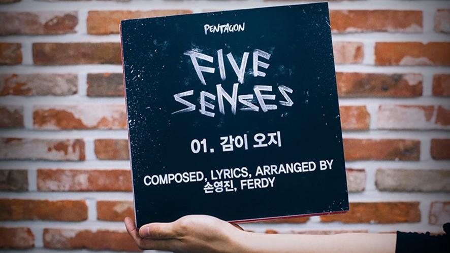 """펜타곤 - 2nd Mini Album """"Five Senses"""" Audio Snippet"""