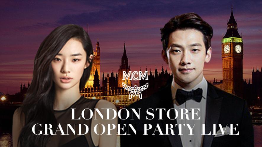 [MCM LIVE]  London Store Open Party LIVE MCM 런던스토어 오픈파티 현장