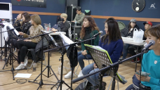 Apink Band Practice for Concert