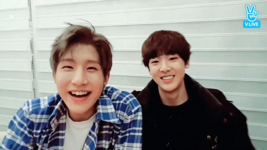 [ASTRO] 따나와 강아진진의 Hey baby 젤리줘🍇 먹방(Sanha&JinJin's Jelly Mokbang)
