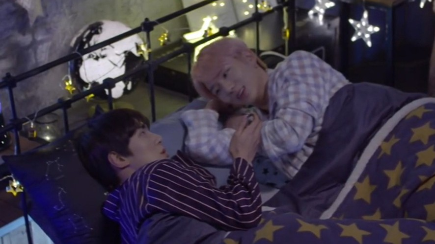 [MONSTA X] 잠버릇조차 귀여우면 반칙이야(Kihyun&Minhyuk talking about sleeping habits)