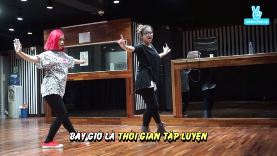 Suni[수니] trải nghiệm tại học viện đào tạo sao Kpop - Dance Training