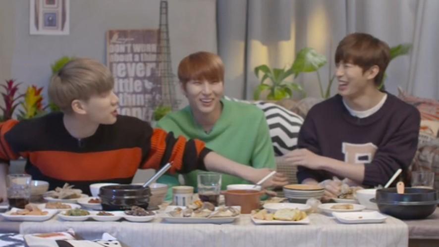 [VIXX] 동생들에게 극딜 당하는 대구니ㅇㅅㅇ(Hyuk&Hongbin teasing Leo)