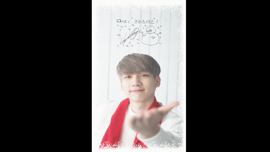빅스(VIXX) HYUK's Christmas Card (for ST★RLIGHT)