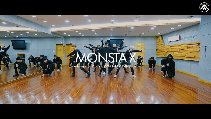 [Dance Practice] 몬스타엑스(MONSTA X) _ SBS 가요대전 Performance