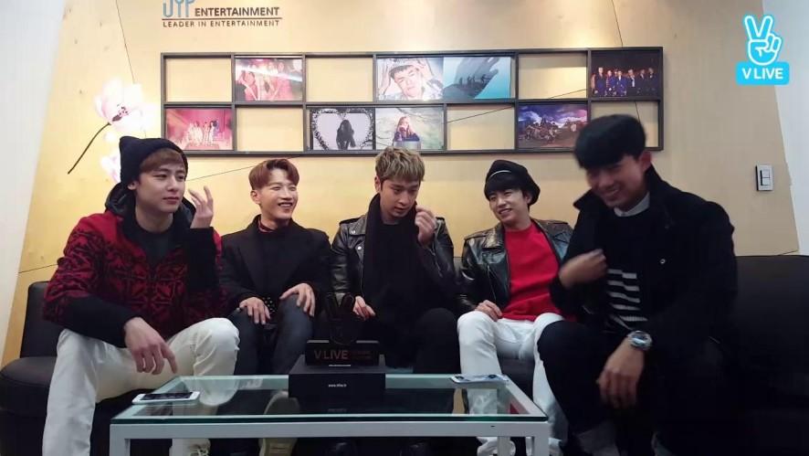 2PM V앱 100만! 핫티스트 고마워요♡