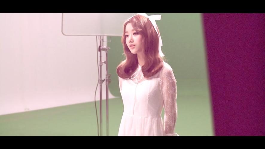 """APRIL - """"April Story"""" Naeun MV making spoiler"""
