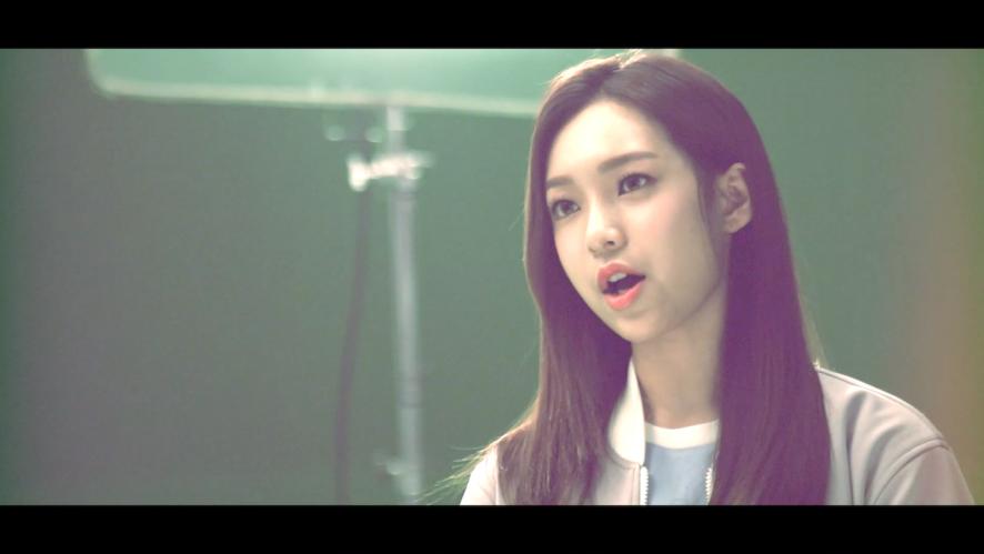 """APRIL - """"April Story"""" Yena MV making spoiler"""