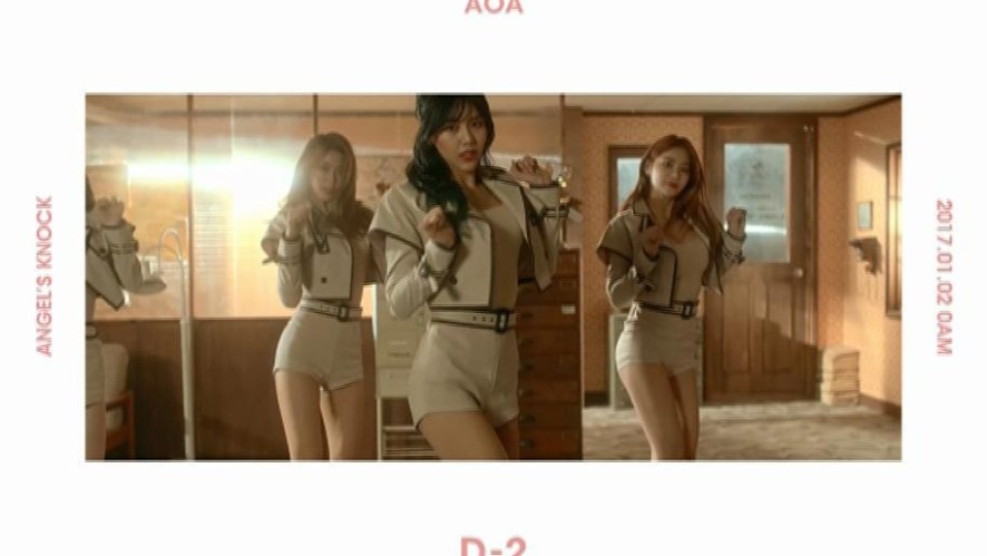 AOA 1st Album「Angel's Knock」[D-2] MOTION POSTER