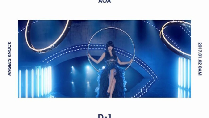AOA 1st Album「Angel's Knock」 [D-1] MOTION POSTER