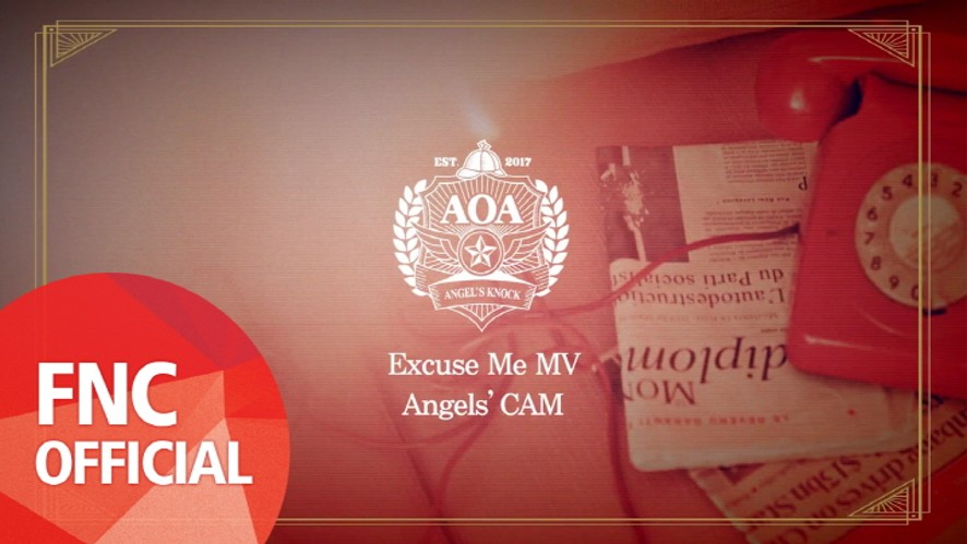 Angels' Cam #47 : AOA Excuse Me 뮤직비디오 촬영 현장