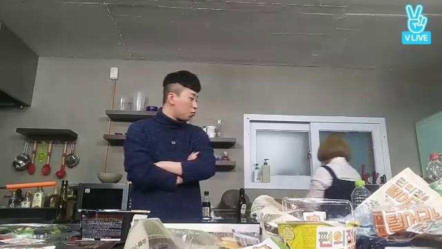 tvN <편의점을 털어라> 딘딘&박나래