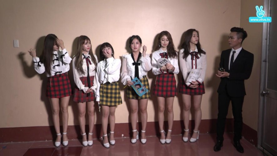 T-ARA's backstage in V LIVE YEAR END PARTY 2016