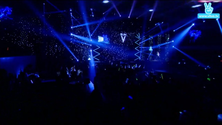 Slim V's Stage in V LIVE YEAR END PARTY 2016