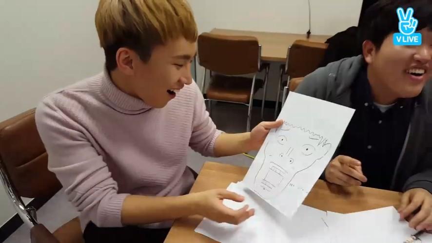 [BTOB] 정이룬 화백이 그린 실버라잇🎨(Ilhoon drawing Eunkwang)