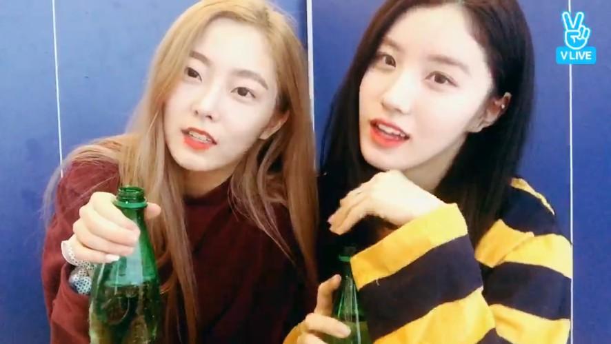 [PRISTIN] 띠띠누누의 아름다움에 치얼스..🌟(Xiyeon&Eunwoo making lemon sparkling water)