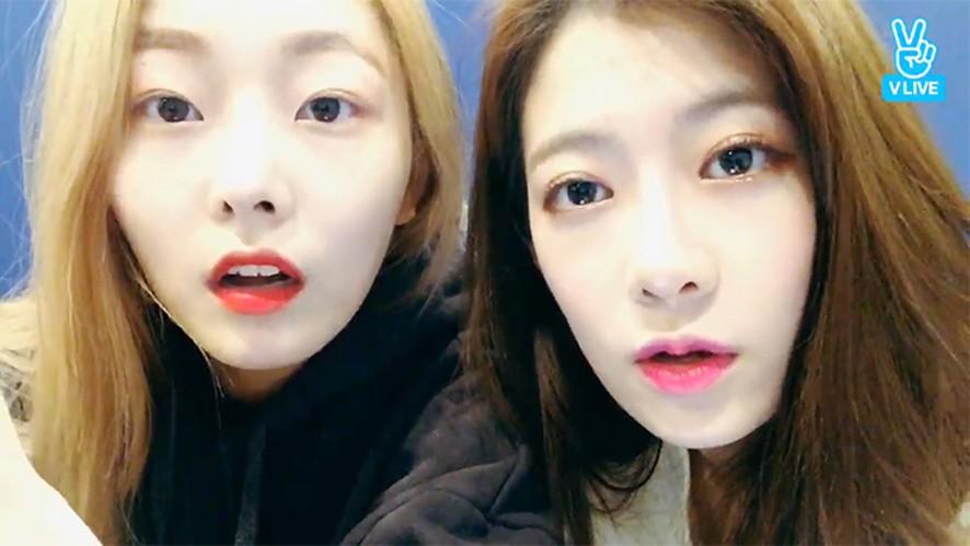 [PRISTIN] 결경없는 결경 방송💙  (Adorable RENA & Eun-Woo! )
