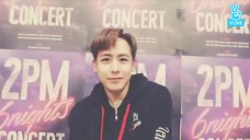 [2PM] 쿤오빠가 디자인한 식스나잇 로고는 😏 ⁉️  (Nichkhun designing new concert logo)