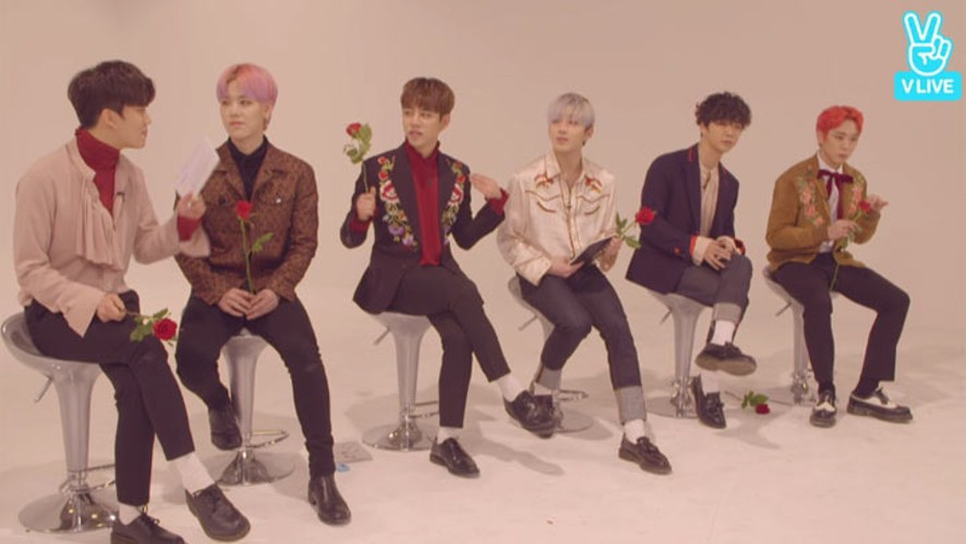[REPLAY] B.A.P 컴백 Vring U 꽃을 든 남자들(B.A.P with flowers)