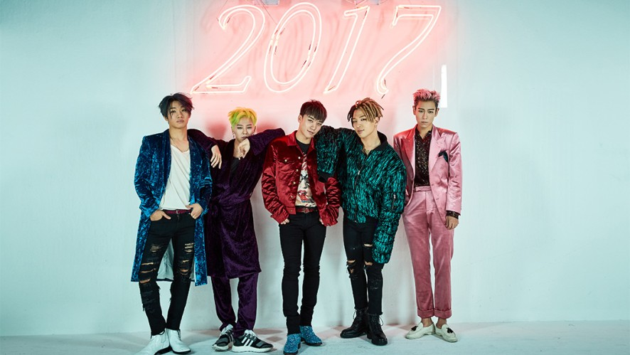 BIGBANG'S 2017 WELCOMING COLLECTION