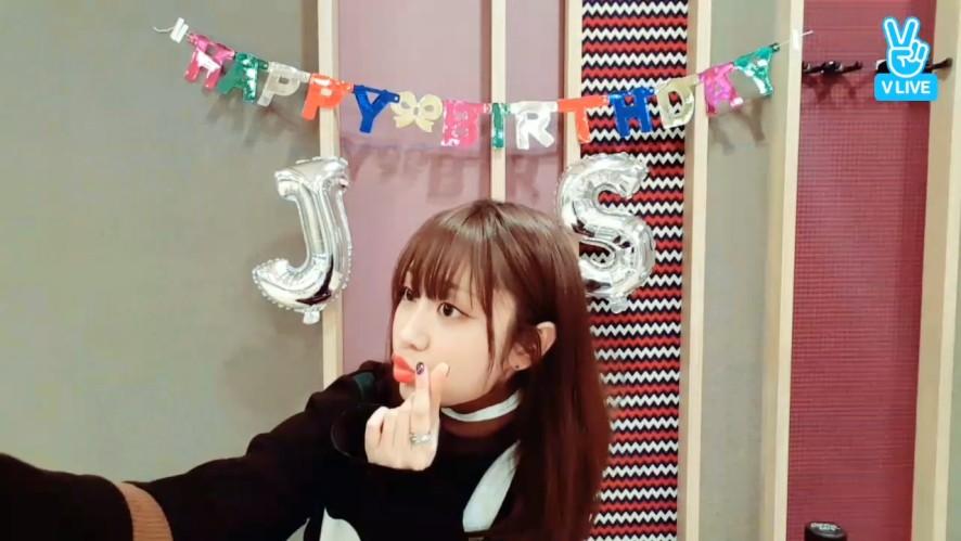 [LOVELYZ] 다시 보는 햅삐지수데이😘 (Happy Birthday Jisoo, once again!)