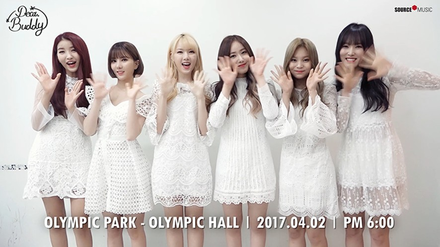 "여자친구 GFRIEND - 1st Fan Meeting ""Dear. Buddy"""