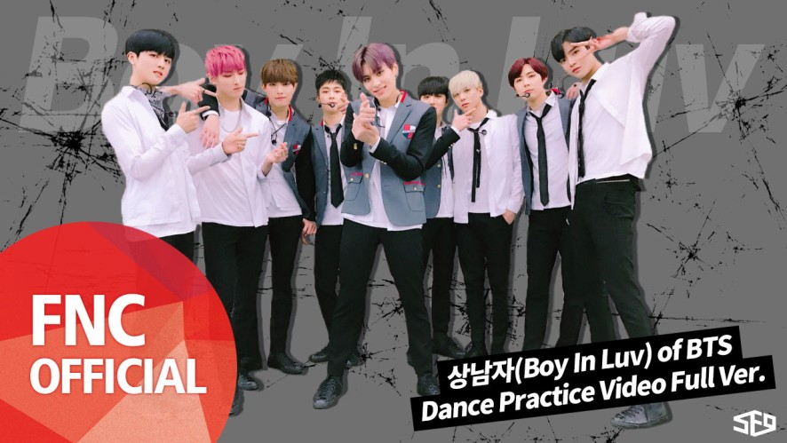 SF9 - 상남자(Boy In Luv) of BTS 안무 연습 영상(Dance Practice Video) Full Ver.