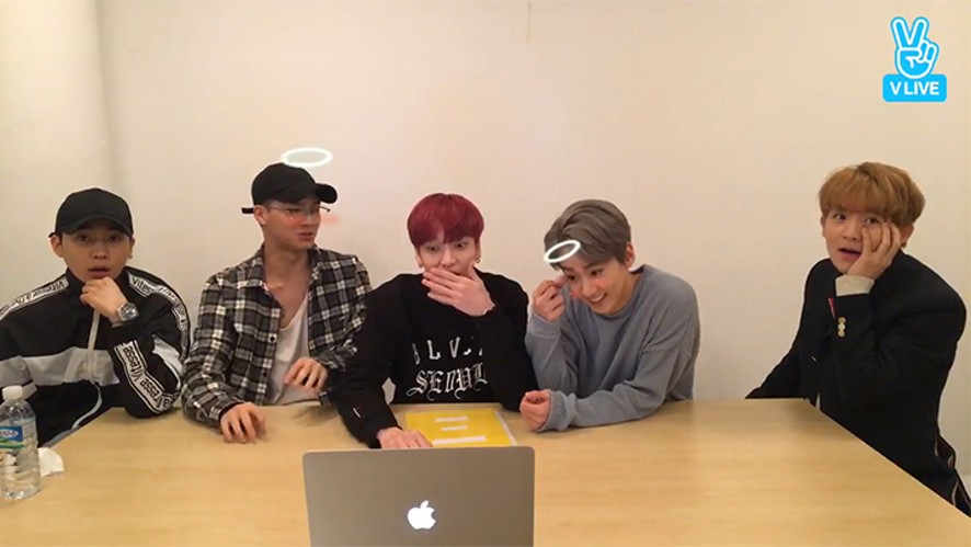 [TEENTOP] 자막과 대화하는 틴타비들💜 (TEENTOP being astonished at the captions)