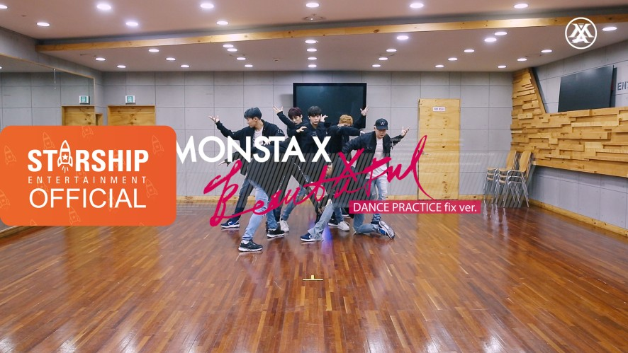 [MULTICAM] [Dance Practice] 몬스타엑스 (MONSTA X) - 아름다워 (BEAUTIFUL) (Full Ver.)
