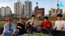 [DAY6] 데식이들의 한강나들이 장난 아닌데🌸 (DAY6's Han River picnic)