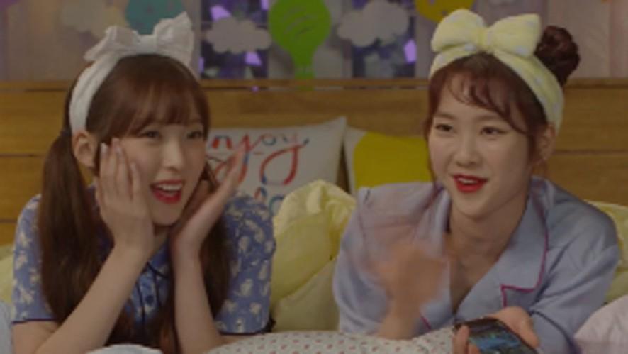 [FULL]OH MY GIRL JIHO&ARIN's LieV - 오마이걸 지호&아린의 눕방라이브!