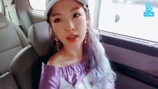 [이달의 VOOM 후보_JEON JI YOON] 보라지윤 와우내! 넘 예쁘내!💜  (Purple hair Ji Yoon)