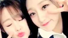 [LOVELYZ] 캐나다에서도 잔망스러운 무쌍자매(Jisoo&Yein in Canada)