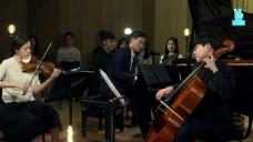 [영상] 김정원의 V살롱콘서트 [The Spring] 중 'Oblivion' (Vn. 김다미, Vc. 심준호) Julius Kim's Salon Concert